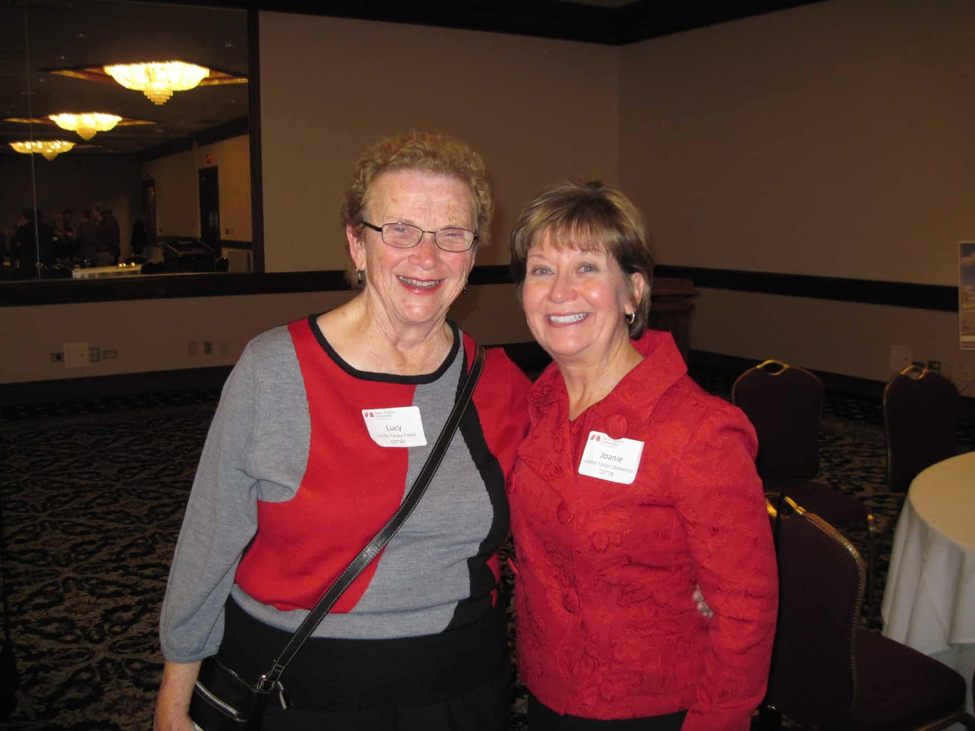 Lucy Farley Fisher & Joanie Domanico